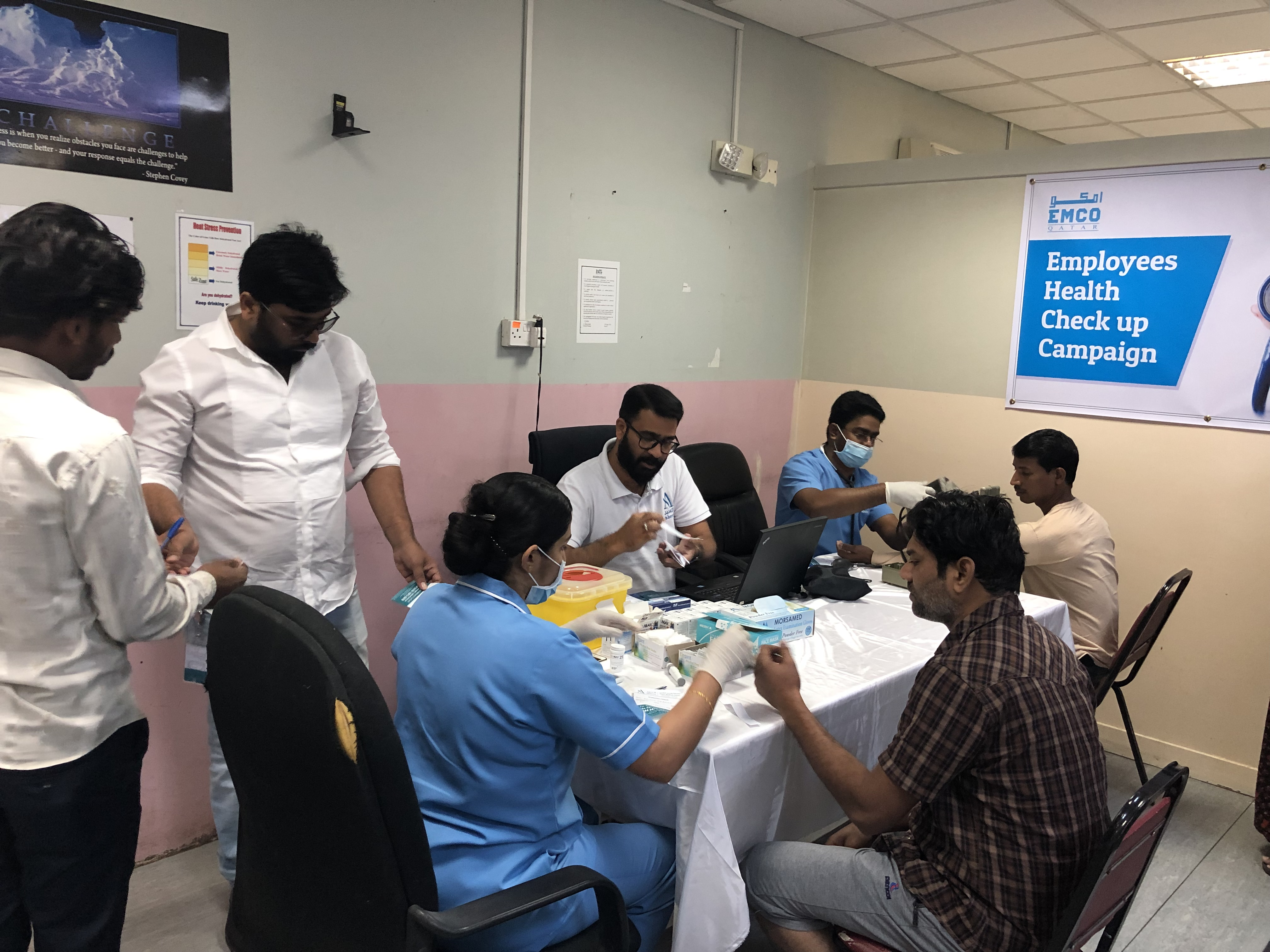 Employee's Health Checkup Campaign